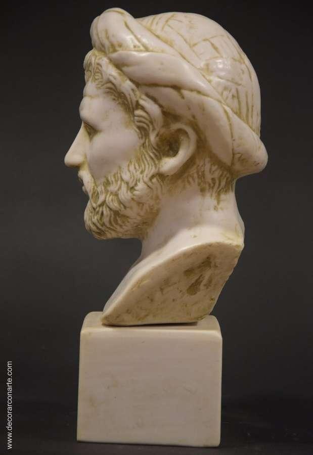 Bust Of Philosopher Pythagoras 29x12cm Sale Of Greek