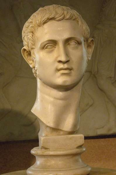 Busto de <b>Cesar Augusto</b>. - Cesar_augusto