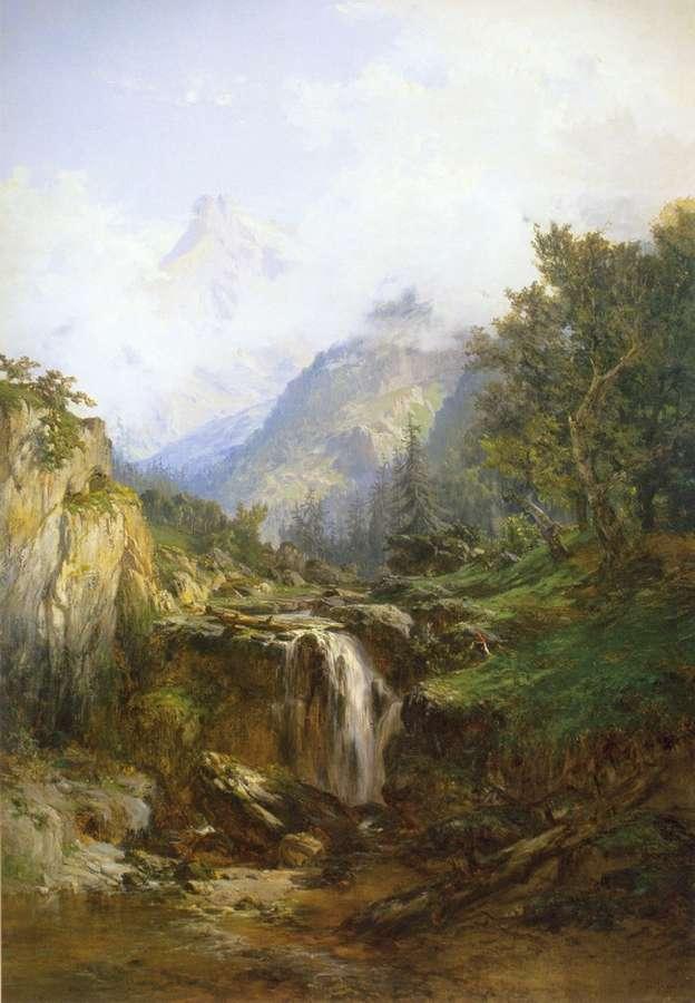Monta as de asturias picos de europa l mina de carlos de - Pintores en asturias ...