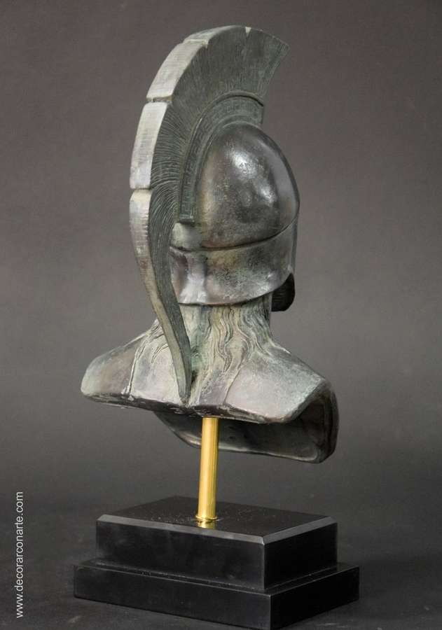 Bust Of Leonidas Height 30cm Sale Of Greek Statues