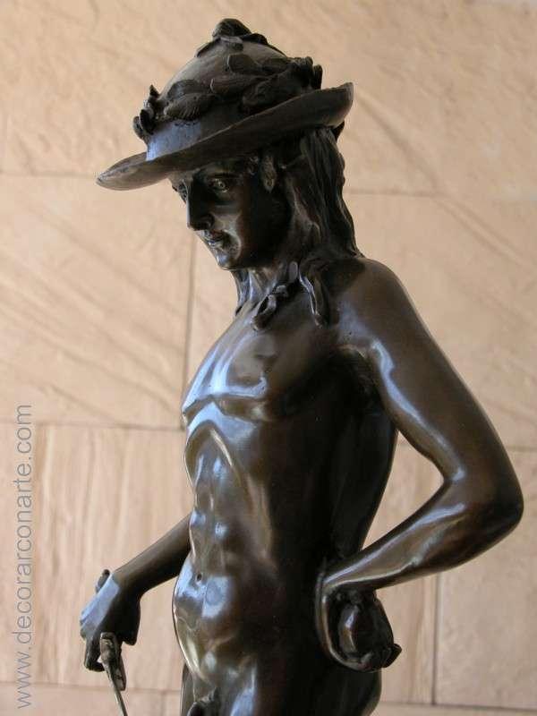 Bronze David by Donatello  64x22x20cm - bronze sculptures