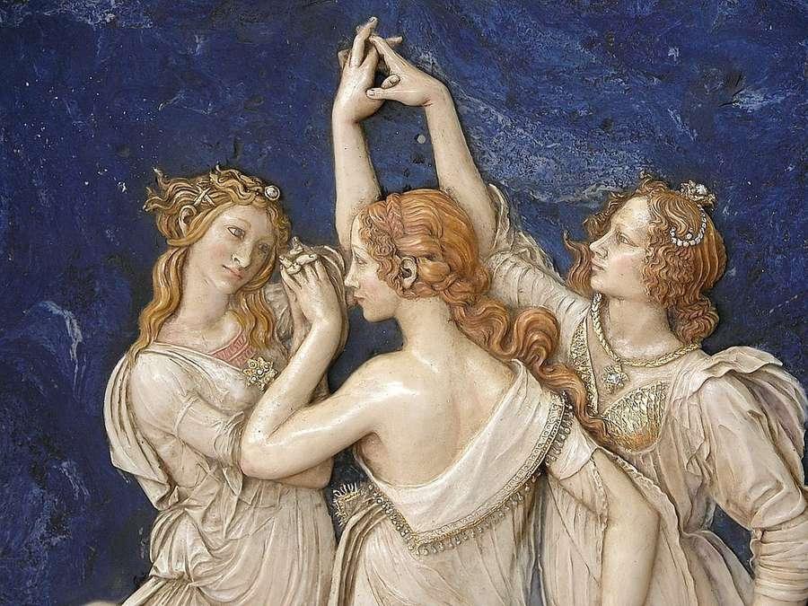 Bajorrelieve Las Tres Gracias Botticelli Venta De Relieves