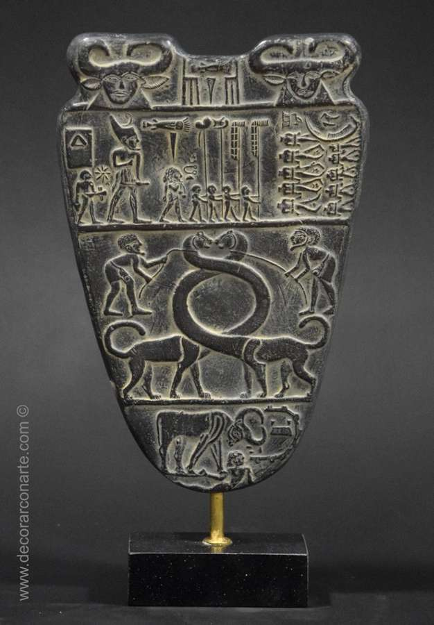 Paleta De Narmer Alt 31 Cm Decorar Con Arte