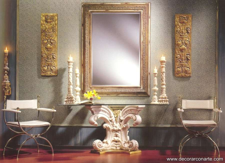 Consola ornamental 170x55 alt 77cm venta de muebles for Consolas decoracion hogar