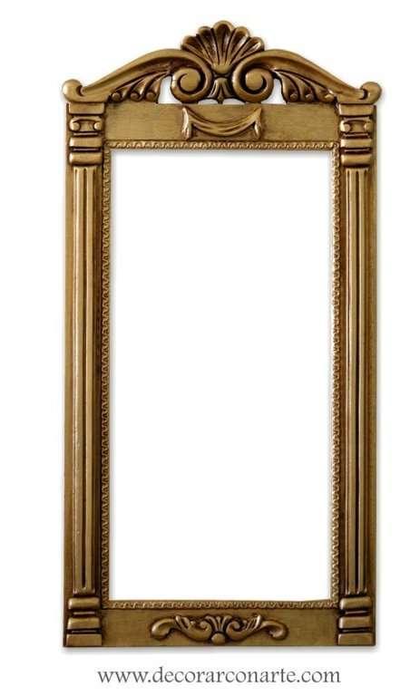Marco Paris, 54 x 27. (Exter: 54x27cm..) Intermediate: 39x19 cm ...