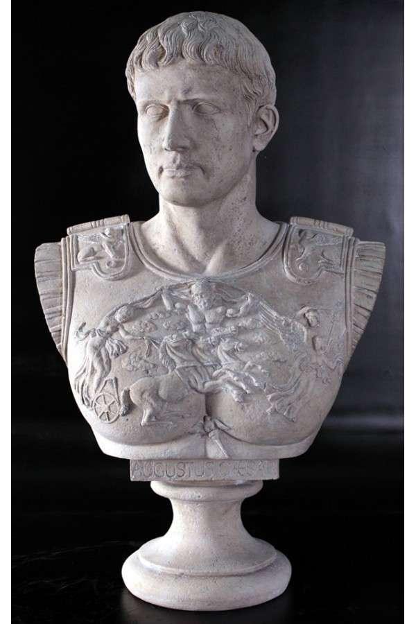 Bust Of Caesar Augustus 82x30x52cm Sale Of Sculptures