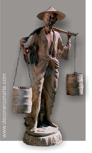 Escultura chino mandar n 100x60x35cm venta de decoraci n Esculturas decoracion