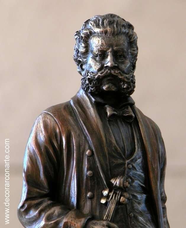 Figur Johann Strauss. 12x10,5x30,5 cm - Verkauf von Figuren für ...