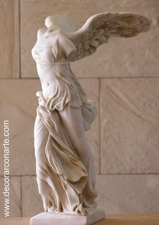 Negligencia Pío muy agradable  Estatua. Victoria de Samotracia. 45cm - Venta de estatuas griegas