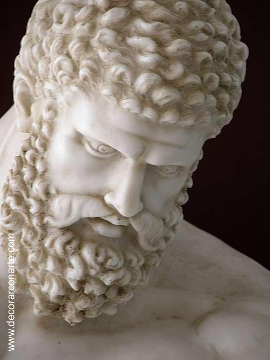 Sculpture Farnese Hercules 60x36x76 5cm Sale Of Decoration