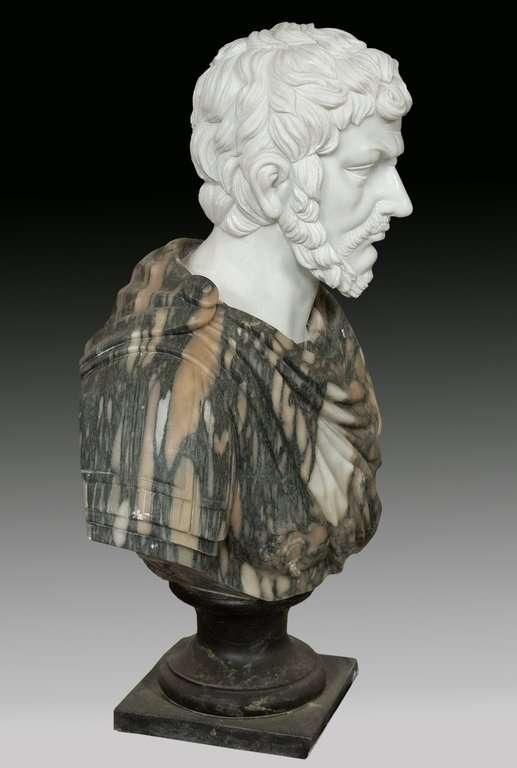 Busto romano m rmol 63x27x90cm venta de esculturas Esculturas decoracion