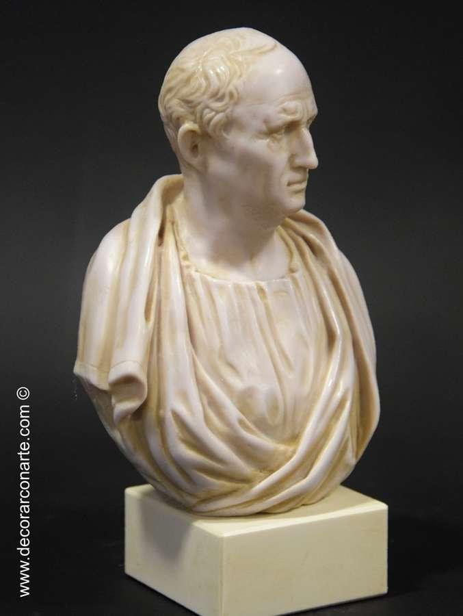 Bust Of Cicero Height 25cm Sale Of Roman Sculptures