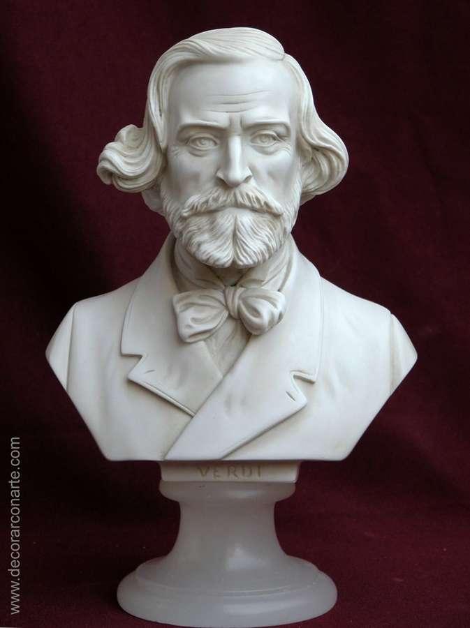 busto de verdi 22cm ventas de figuras de decoraci n. Black Bedroom Furniture Sets. Home Design Ideas