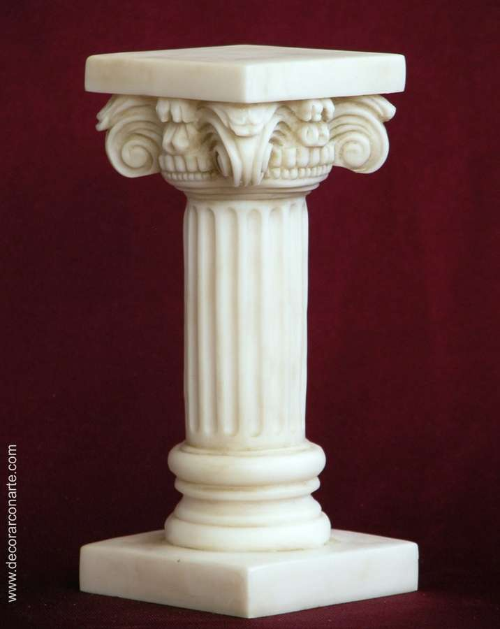 Pequeña Columna Compuesta. 17cm - Venta de figuras decorativas