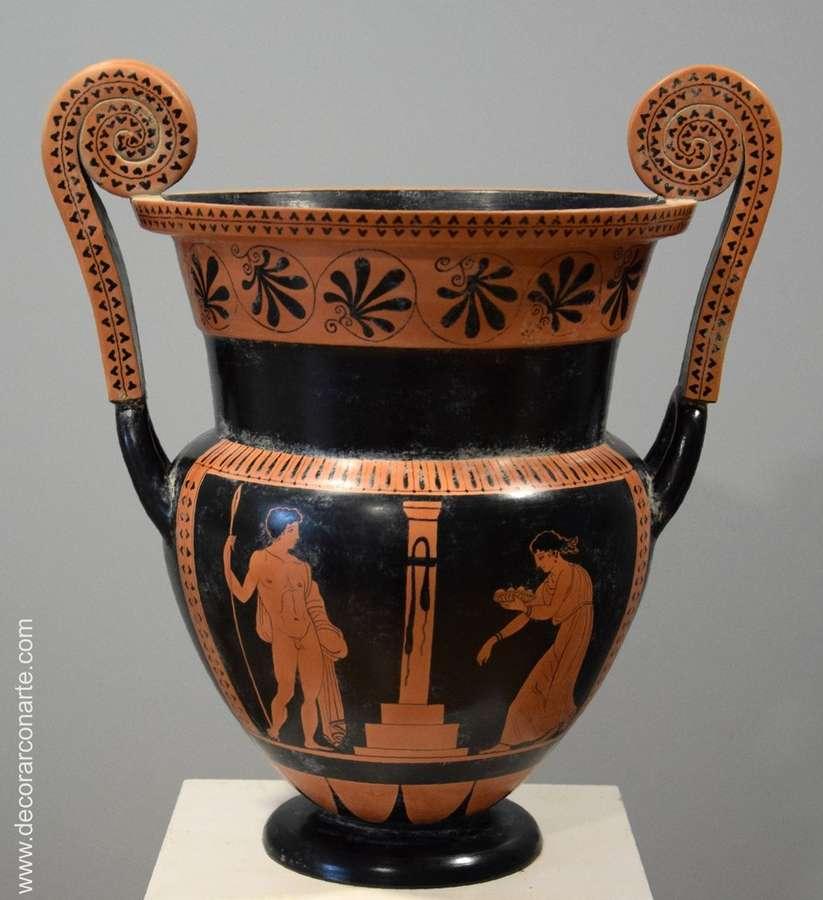 Crater rolled handles greek ceramics high 42cm sale of vases greek ceramics reviewsmspy