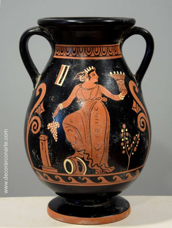 Pelega o pelike cer mica griega altura 25cm venta de for Vasi antichi romani