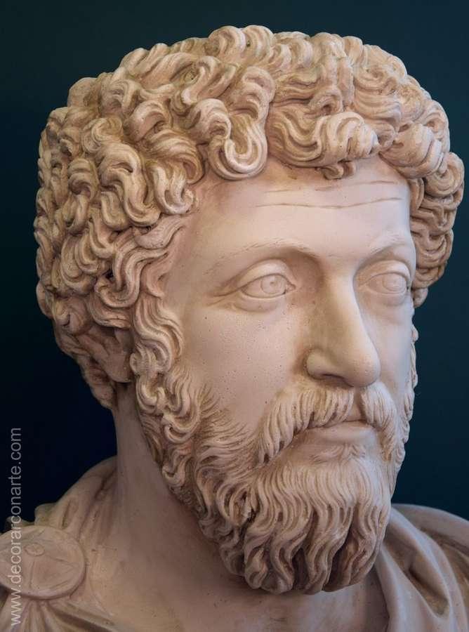 marco aurelio  Busto di Marco Aurelio - (Efeso). 86 cm. - scultura decorazione