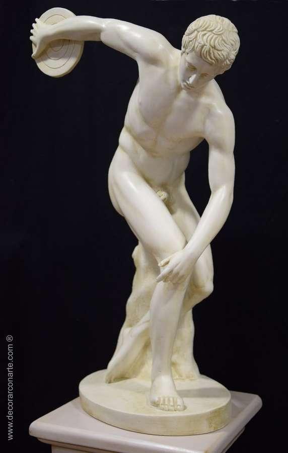 Sculpture Discobolus Of Myron 67cm Sale Of Decorative