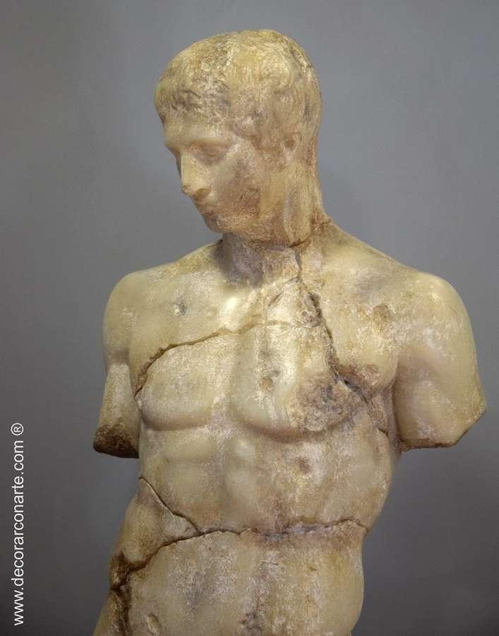Sculpture d'Apollon. 130x37x48cm - sculptures pour la décoration