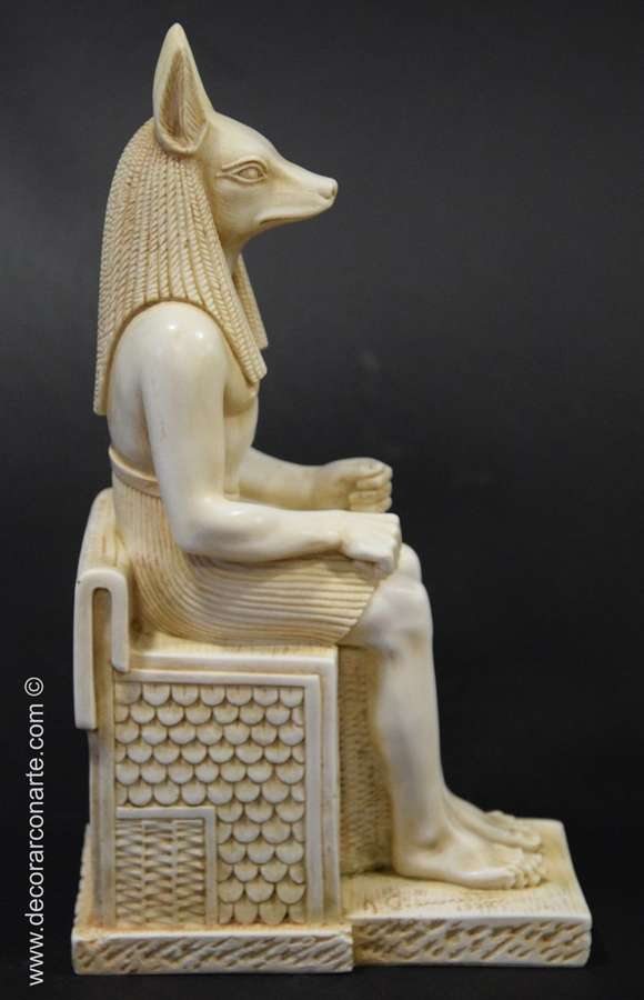 Egyptian figure  God Anubis  24x13x8cm - Egyptian Reproductions
