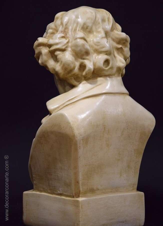 Busto de beethoven 50x27x20 cm esculturas para decoraci n - Esculturas decoracion ...