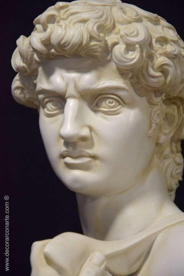 Sculpture David de Miguel Angel 92 cm - Decorative sculptures
