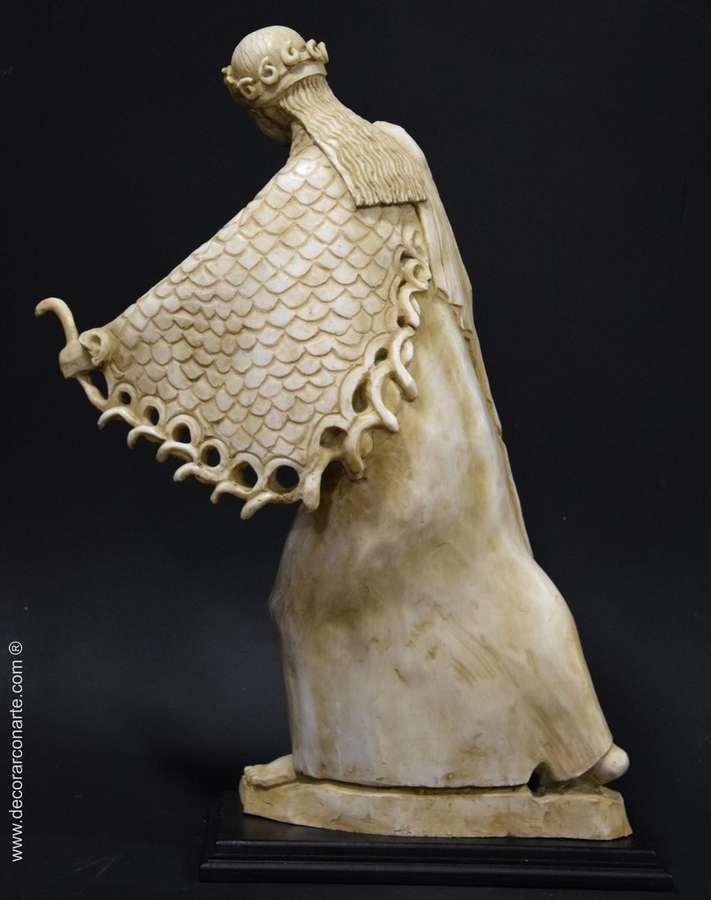 Escultura de atenea arcaica 60cm esculturas para decoraci n Esculturas decoracion
