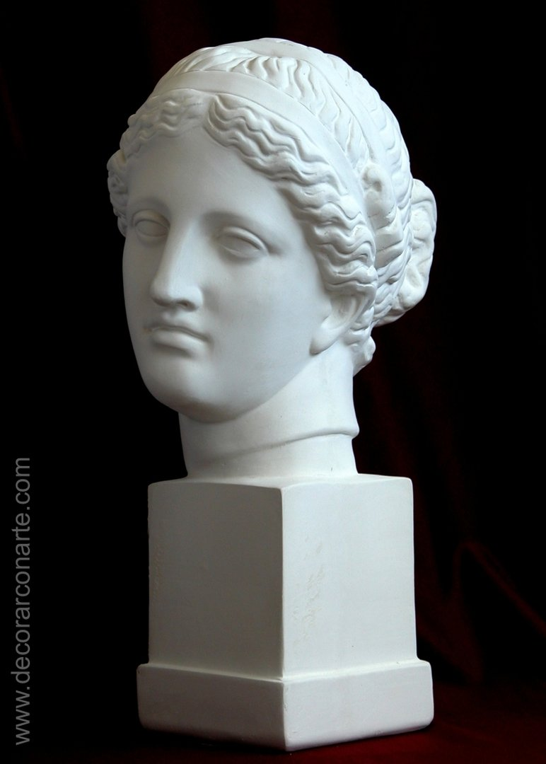La imagen tiene un atributo ALT vacío; su nombre de archivo es Figura-Escayola-Afrodita-Pt-B40-b.jpg