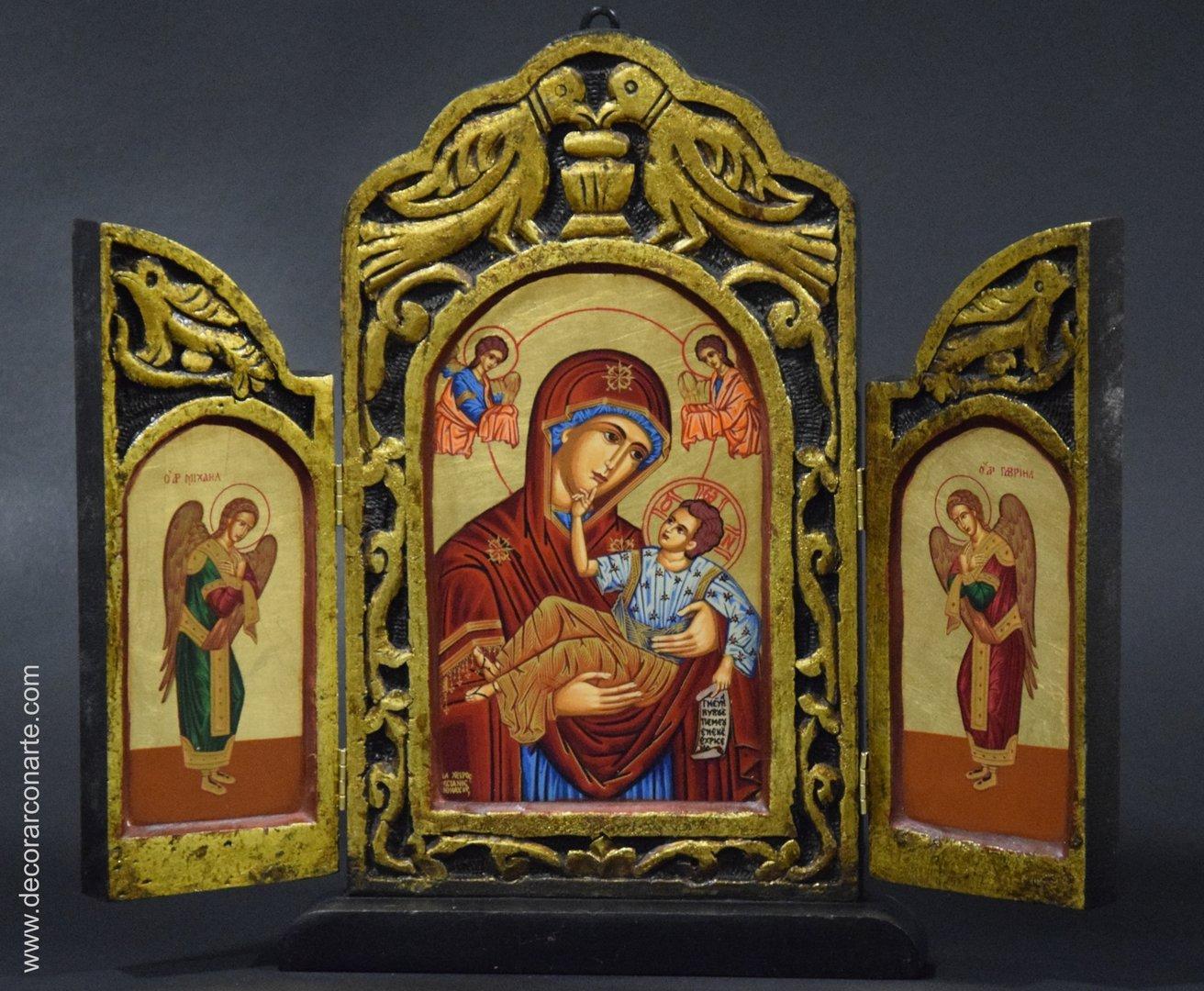 La imagen tiene un atributo ALT vacío; su nombre de archivo es Icono-Bizantino_triptico-DI-TREP1.jpg