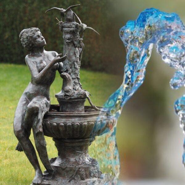 Bronzes. Sources d'eau.