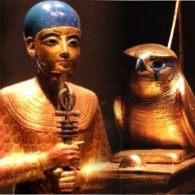 Relieves y figuras de Egipto