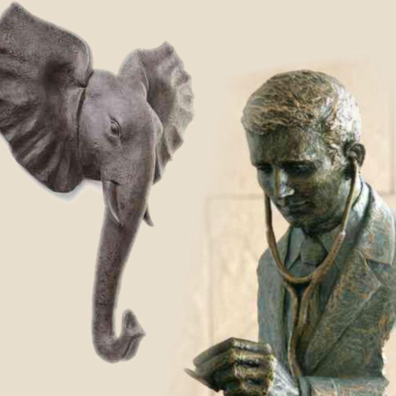 Diverses figures et sculptures