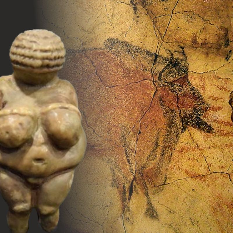 Figures and reproductions. Prehistory