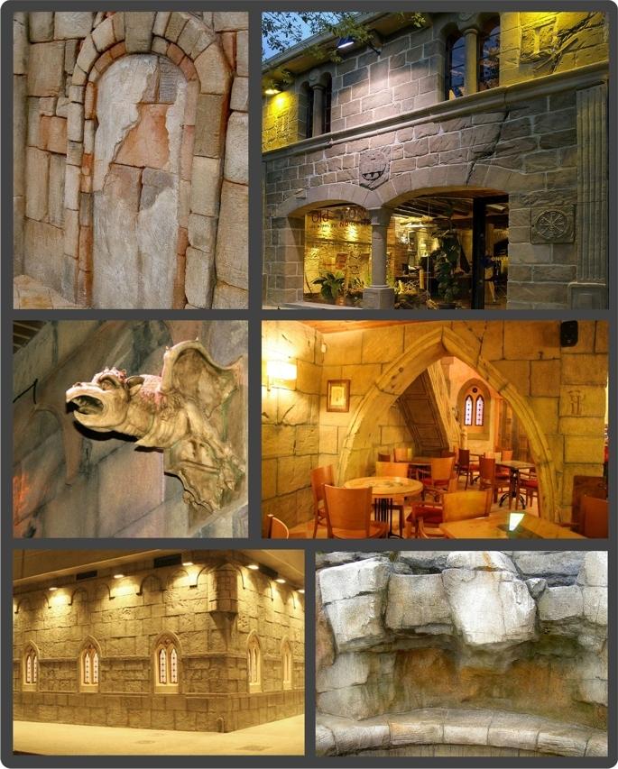 fotos de arquitectura temática