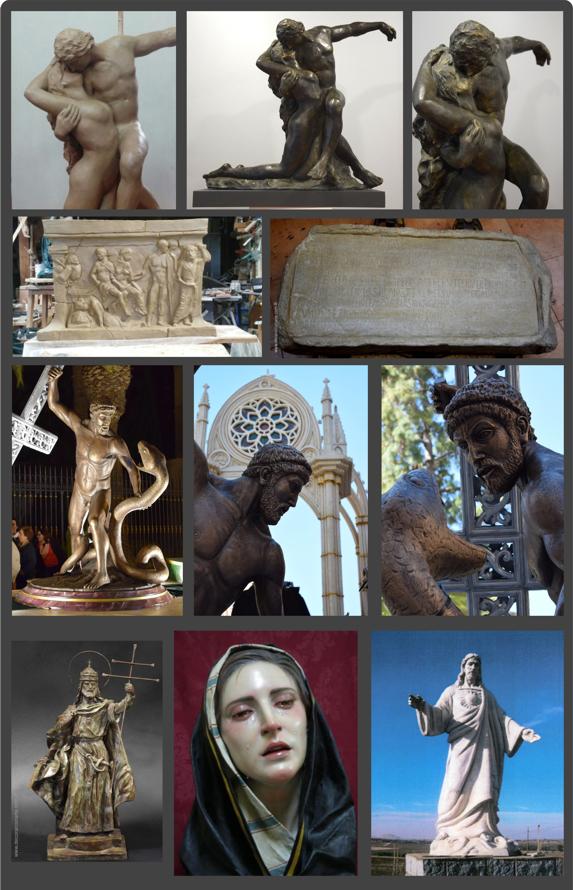Fotos esculturas por encargo
