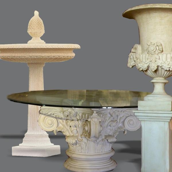 Mobili, colonne ed elementi di decorazione