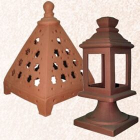 Lanternes et lampes de mur en céramique