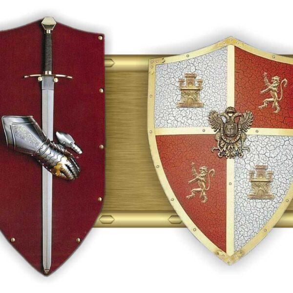 Panoplies - boucliers médiévaux