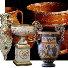 Ceramics, terracotta and porcelain