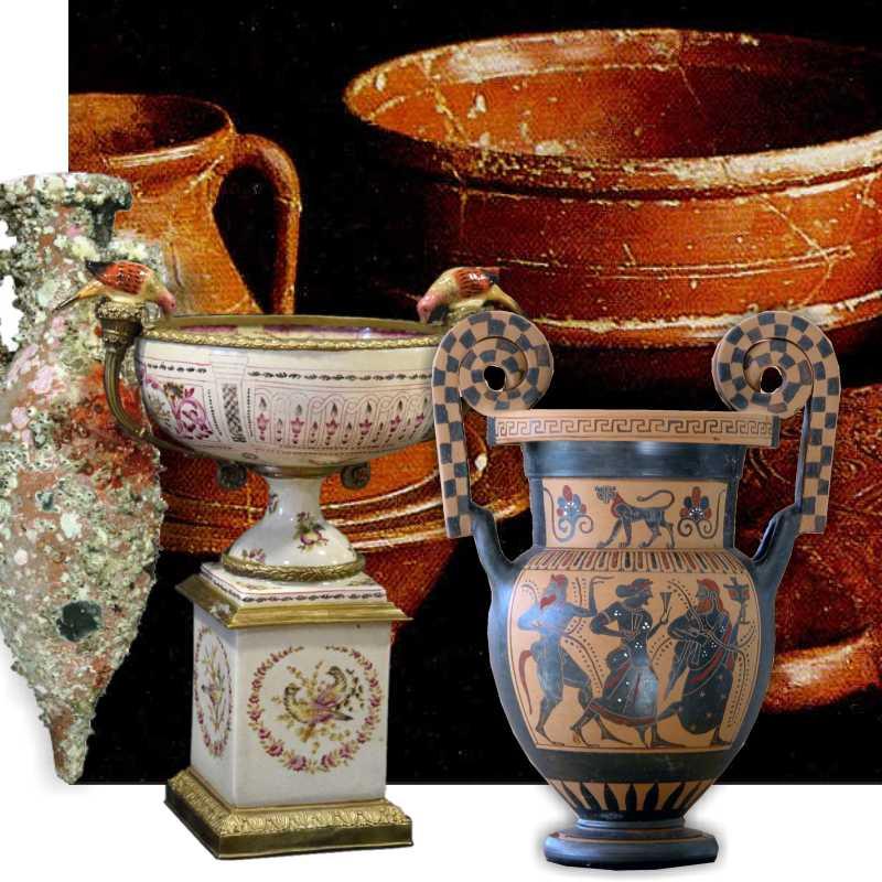 Céramique, terre cuite et porcelaine