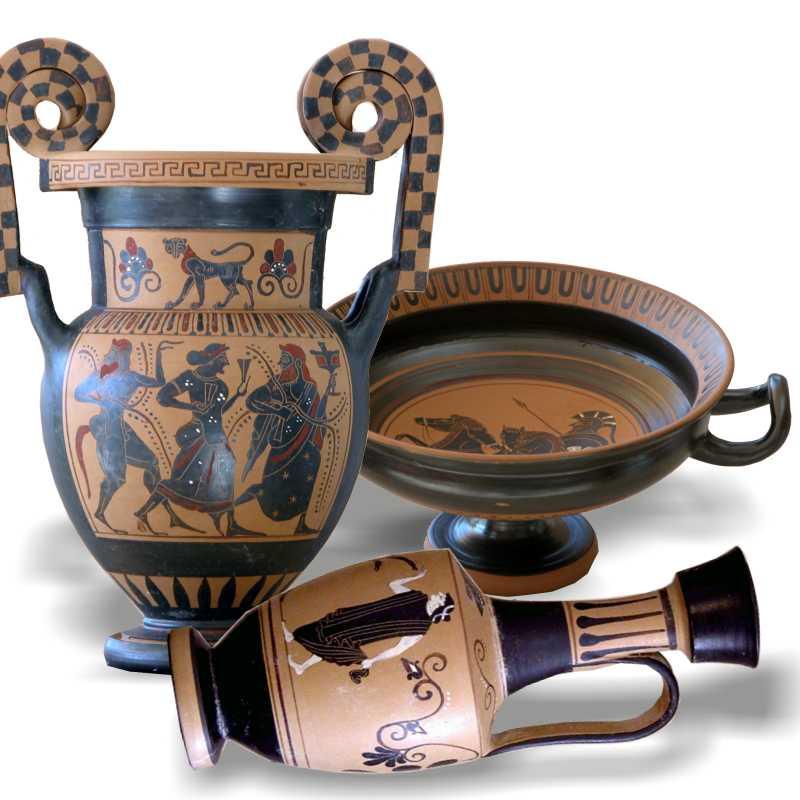 Vases grecs et étrusques