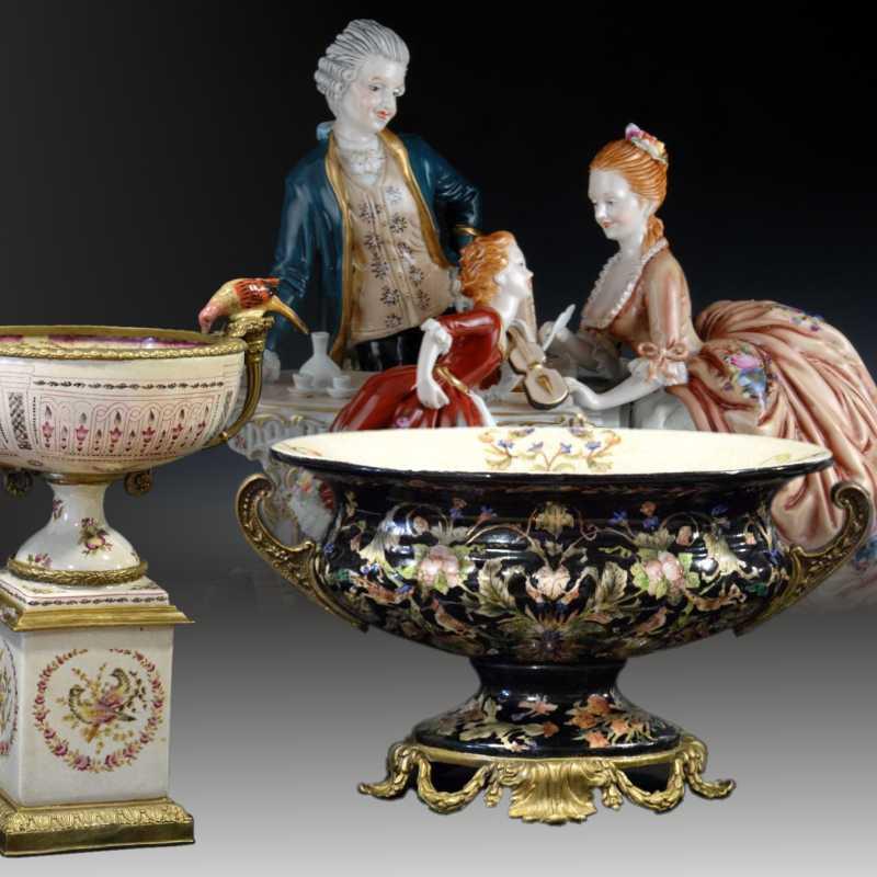 Porcelain and Sévres