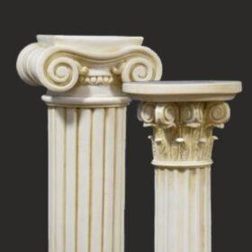 Columnas y pedestales