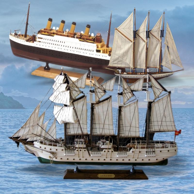 Maquetas de barcos antiguos