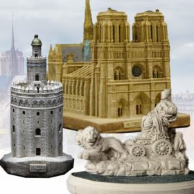 Models of historical monuments
