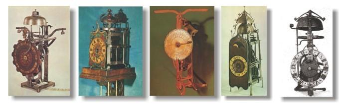 relojes goticos
