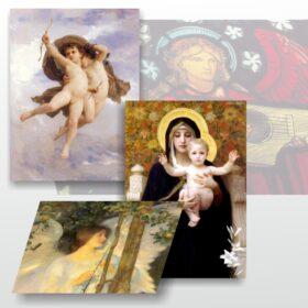 Láminas y lienzos impresos