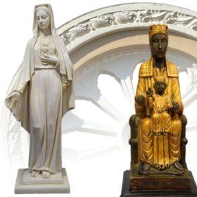 Figuras de mármol reconstituido