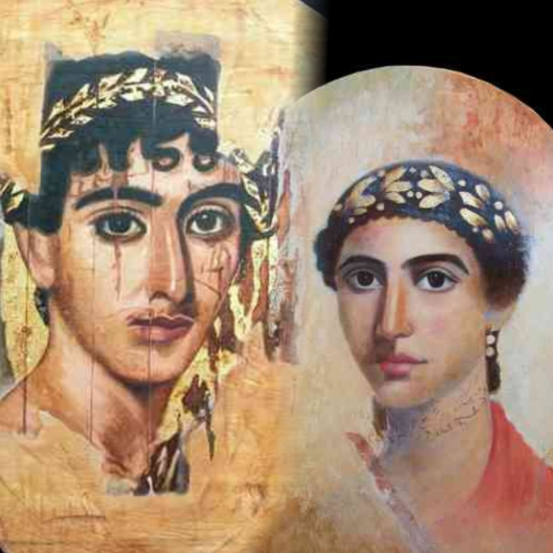 Portraits from the El Fayum
