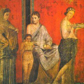 Reproducciones de pintura griega y romana